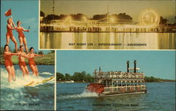 Indiana Beach, Lake Shafer Postcard