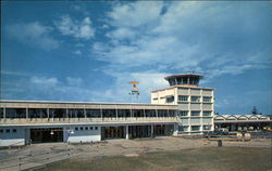 Nasau International Airport Postcard