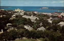 View of Town from Fort Fincastle Postcard