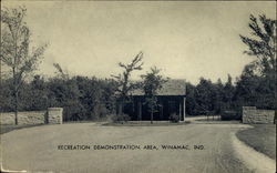 Recreation Demonstration Area, Entrance way and Gate House