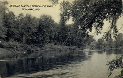 At Camp Paxton, Tippecanoe River