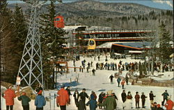 The Ski School Meeting Place, Mt. Snow