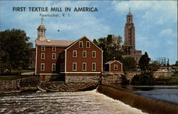 The Old Slater Mill, First Textile Mill in America