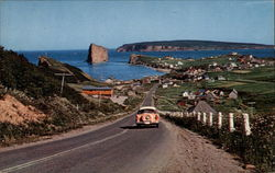 At Picturesque Perce Postcard