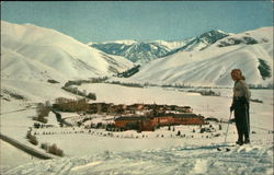 Sun Valley as seen fro Penny Mountain