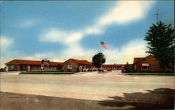 Bush's Motel Postcard