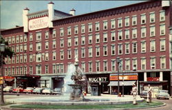 Hotel Woodruff and Fountain, Public Square