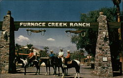Furnace Creek Ranch Postcard