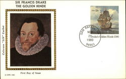 Sir Francis Drake - The Golden Hind - First Day of Issue