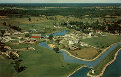Aerial View of Upper Canada Village