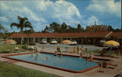 Poinsetta Motel Postcard