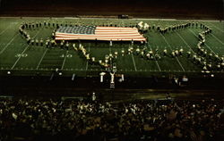 Murray State University's Marching Thoroughbred's Band Postcard