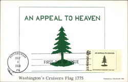 An Appeal to Heaven Washington's Cruisers Flag 1775