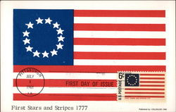 First Stars and Stripes 1777 - First Day of Issue