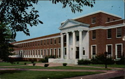 Home Economics Building, Woman's College of the University of North Carolina