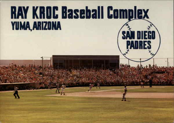 Ray Kroc Baseball Complex Yuma Arizona