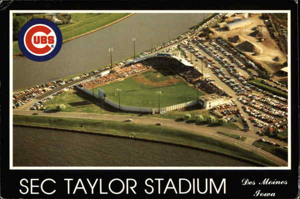 Sec Taylor Stadium, Home of the Iowa Cubs Des Moines