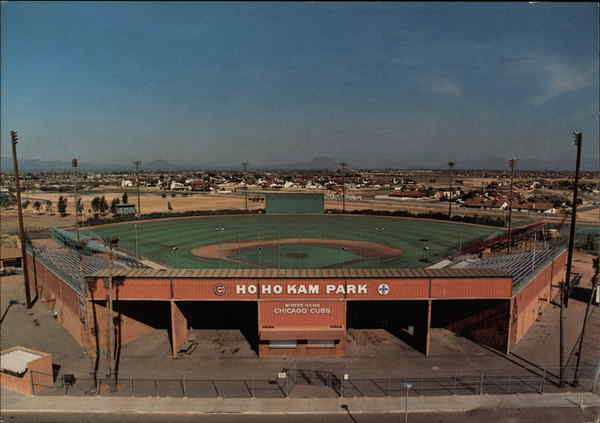 Hohokam Park Baseball Stadium Mesa Arizona