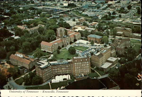 Air View, University of Tennessee Knoxville