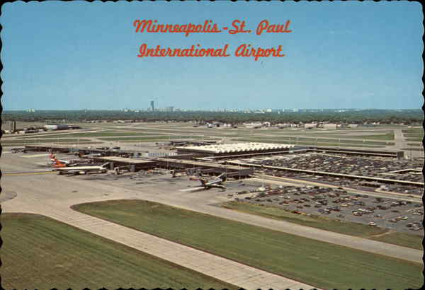International Airport Minneapolis Minnesota