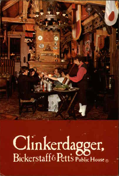 Clinkerdagger, Bickerstaff & Pett's Public House Washington