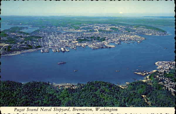 Puget Sound Naval Shipyard Bremerton Washington