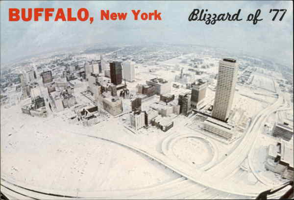Blizzard of '77 Buffalo New York