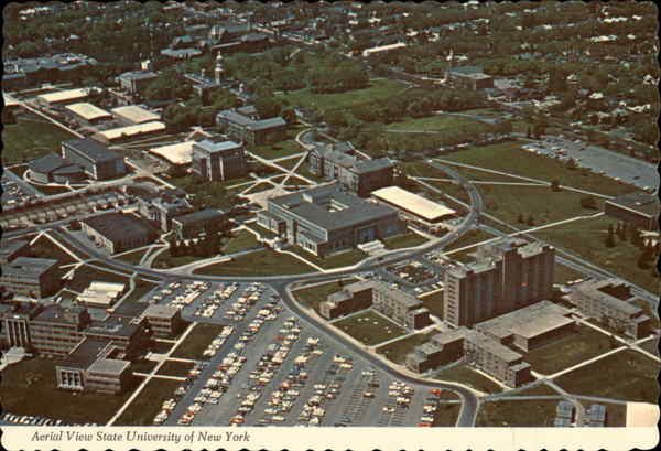 Aerial View State University of New York Buffalo