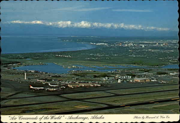 Air Crossroads of the World Anchorage Alaska