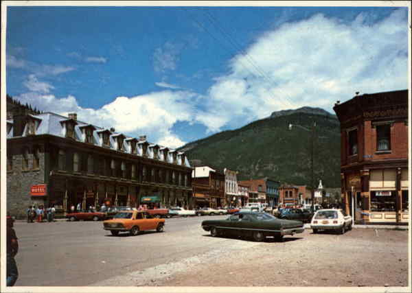 The Main Street Silverton Colorado