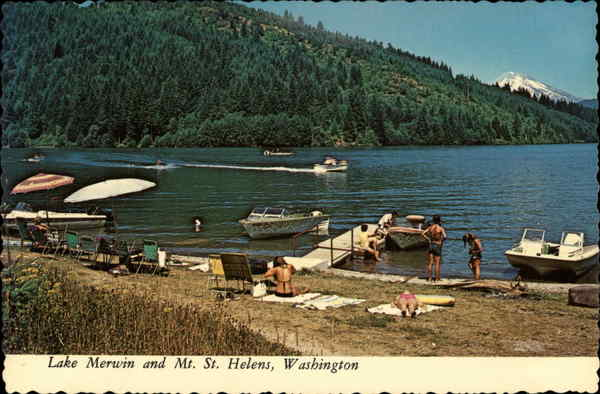 Lake merwin and mt st helens other washington cities for Lake merwin fishing