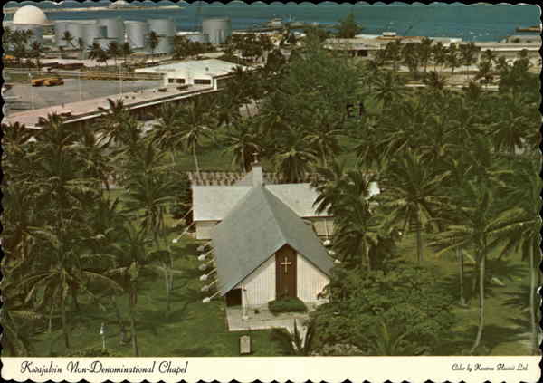 Kwajalein Memorial Chapel - Non-Denominational South Pacific