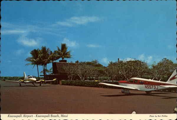 Kaanapali Airport Maui Hi