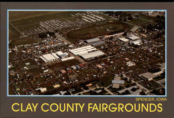Clay County Fairgrounds Spencer Iowa