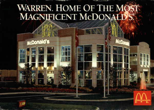 The Most Magnificent McDonald's in America Warren Ohio