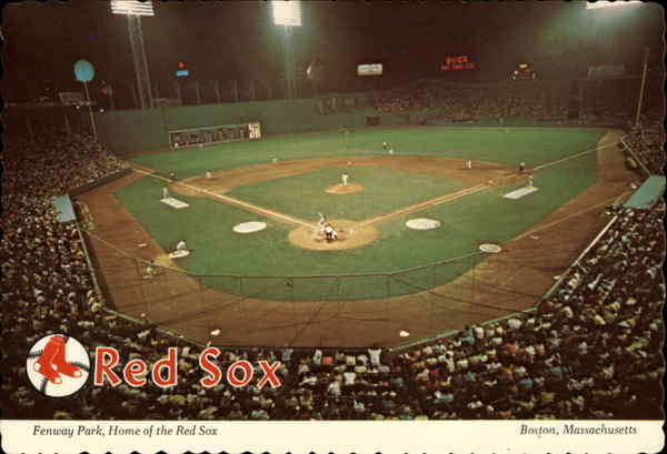 Fenway Park, Home of the Red Sox Boston Massachusetts