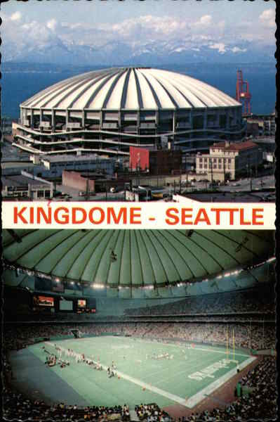 Kingdome King County Domed Stadium Seattle Wa