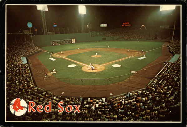 Night Baseball at Fenway Park Boston Massachusetts