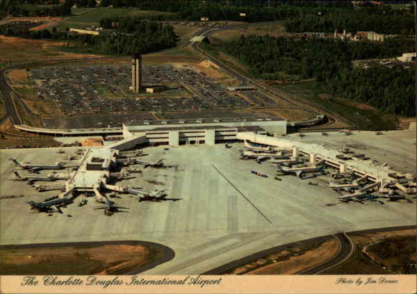 The Charlotte Douglas International Airport North Carolina