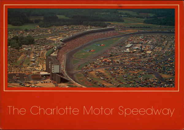 The Charlotte Motor Speedway