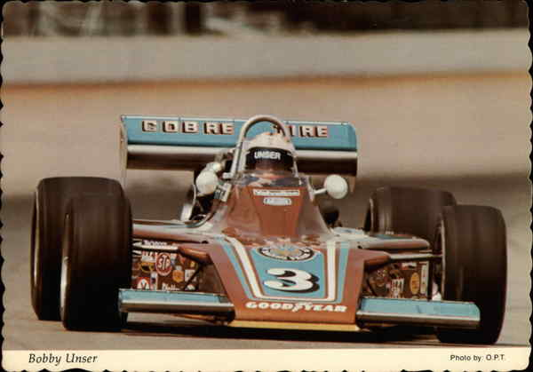 Bobby Unser Auto Racing