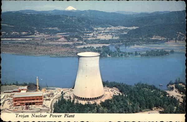 Trojan Nuclear Power Plant Rainier Or