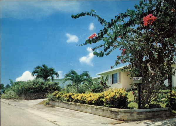Home with Tropical Flowers Tamuning Guam South Pacific