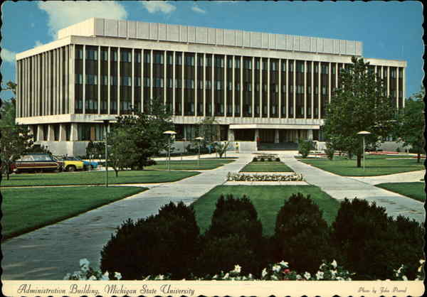 Administration Building, Michigan State University East Lansing