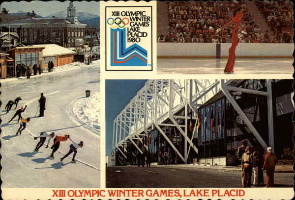 Views of the 1980 Olumpic Winter Games Lake Placid New York