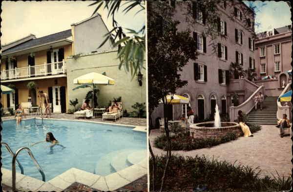 the de la poste motor hotel new orleans la. Black Bedroom Furniture Sets. Home Design Ideas