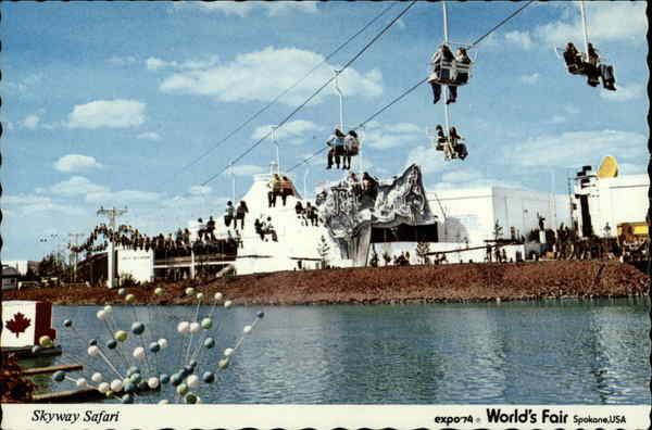 Skyway Safari Expo 39 74 World 39 S Fair Spokane Wa Expo 74