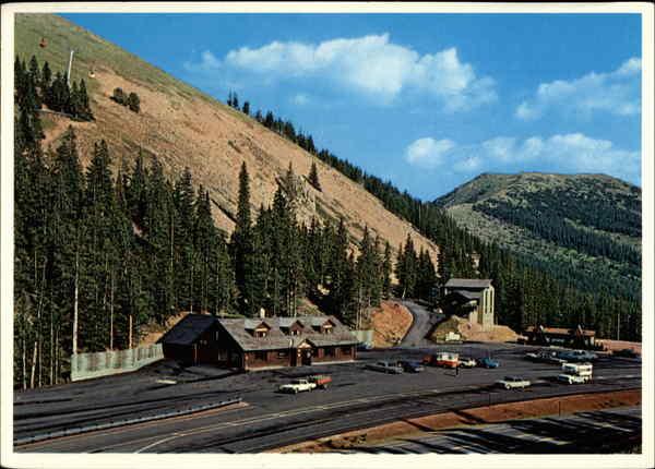 Monarch Pass Continental Divide Colorado