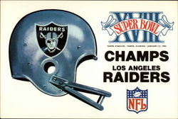 Los Angeles Raiders Super Bowl XVIII Champs