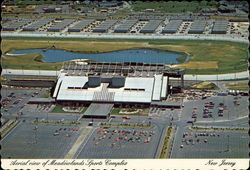 Aerial view of Meadowlands Sports Complex Postcard